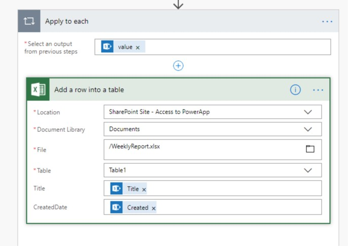 Export Items From a SharePoint List to Excel on a Recurring Basis Using Flow 6