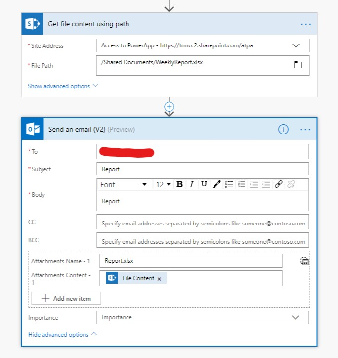 Export Items From a SharePoint List to Excel on a Recurring Basis Using Flow 7