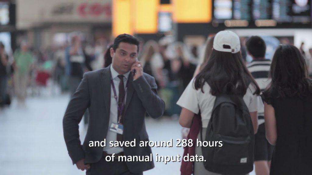 Samit Saini's Power Apps journey at Heathrow 2